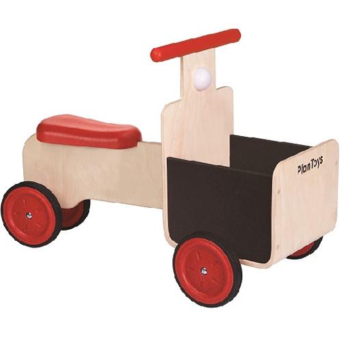 プラントイ デリバリーバイク 乗用玩具 ベビー 木馬 のりもの 乗り物 木のおもちゃ 木製 子供用 出産祝い 1歳 2歳 3歳 誕生日プレゼント 誕生日 男の子 男 女の子 女 幼児 赤ちゃん ギフト 乗用 室内 | クリスマス プレゼント クリスマスプレゼント バイク 一歳 車のおもちゃ