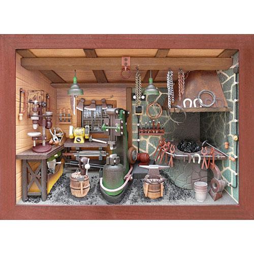 送料無料 ディータードルシュ 壁掛け・鍛冶屋 インテリア 雑貨 飾り 置物 置き物 オブジェ 北欧雑貨 北欧 おしゃれ おもしろ かわいい