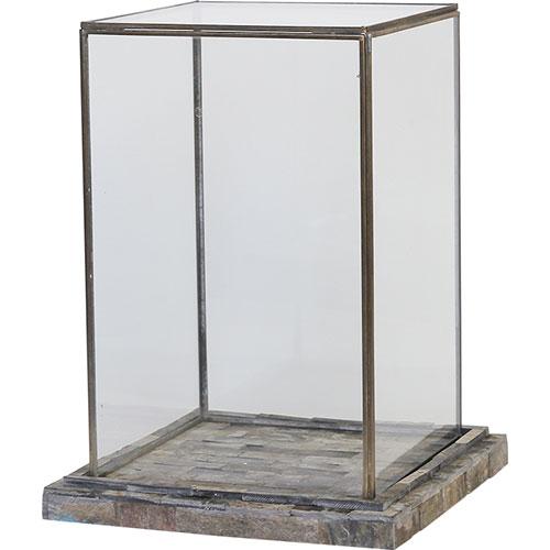 HUNT9 ジェスロ ラージ ショーケース ガラス 雑貨 インテリア 透明
