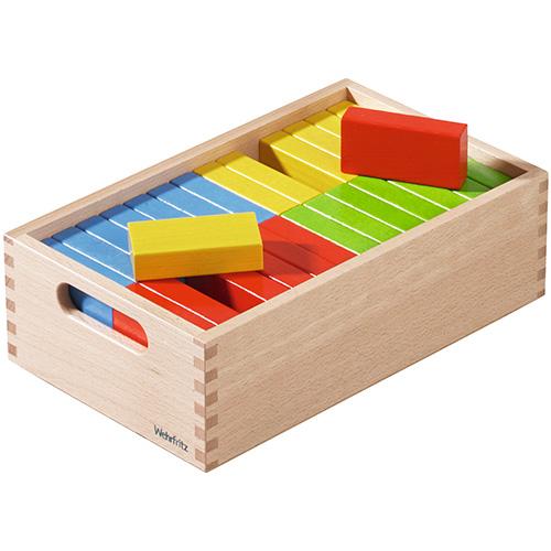 積木 4歳 男の子 知育玩具 ドイツ 木製玩具 男 女 こども 出産祝い | 子供 赤ちゃん 幼児 ベビー プレゼント 木製 ベルフリッツ 木のおもちゃ 積み木 子ども ブロック 保育積木・カラー・レンガセット 誕生日プレゼント 誕生日 2歳 3歳 女の子 オモチャ つみき