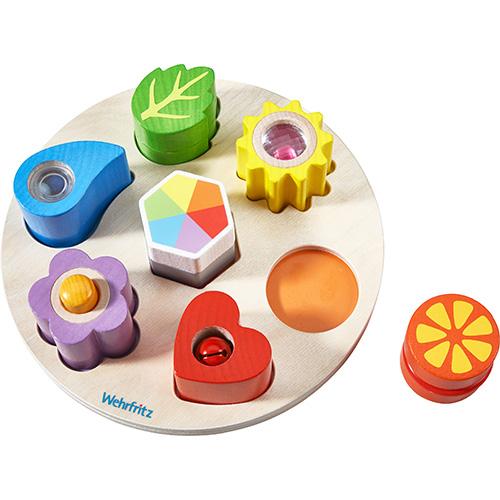 ハバエデュケーション 型はめ遊び・魔法の音 知育玩具 教育 木のおもちゃ 木製 知育 木製玩具 玩具 子供 キッズ 幼児 保育園 幼稚園 学習