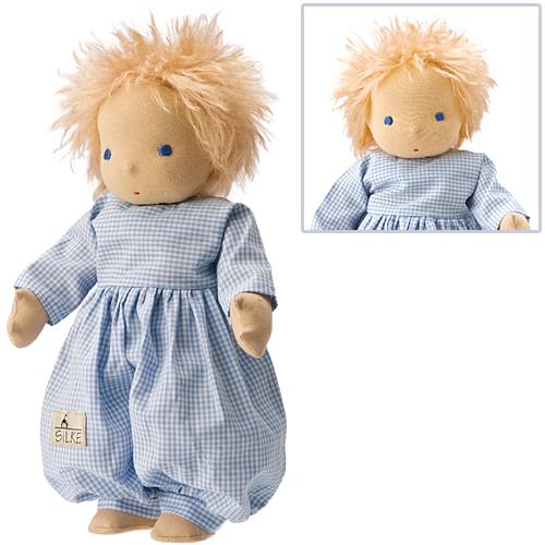 送料無料 抱き人形 おもちゃ シルケ フレンド・ラウラ 子供 ドイツ 誕生日プレゼント 誕生日 女の子 女 出産祝い 2歳 3歳 4歳 キッズ 二歳 ギフト 人形あそび お人形 赤ちゃん 人形 こども 幼児 子供オモチャ ぬいぐるみ 洗える お祝い 着せ替え きせかえ