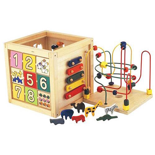 エドインター 森のあそび箱 1歳 2歳 3歳 おもちゃ 赤ちゃん オモチャ 女の子 子供 木のおもちゃ 木製 ベビー 男の子 知育玩具 誕生日プレゼント 出産祝い 木琴 パズル 幼児 エド・インター|一歳 ルーピング ビーズコースター 楽器 型はめパズル 迷路 型はめ 男 女 知育 玩具