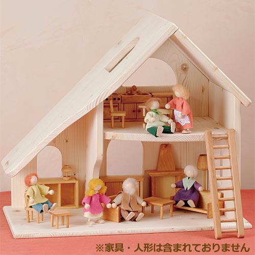 送料無料 誕生日 3歳 4歳 5歳 誕生日プレゼント 女の子 木のおもちゃ ドールハウス 木製 ドライブラッター社 人形の家 2階建 小 子供 出産祝い | 知育玩具 ままごと おままごと クリスマスプレゼント おもちゃ 女 クリスマス おしゃれ 幼児 木製玩具 プレゼント