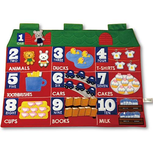 送料無料 知育玩具 数 数字 布 おもちゃ 3歳 4歳 5歳 子供 誕生日プレゼント 誕生日 男の子 男 女の子 女 スマイルキッズ カウンティングタペストリー 知育玩具3才 子ども オモチャ ギフト 玩具|知育 英語 四歳 知育おもちゃ プレゼント クリスマス クリスマスプレゼント