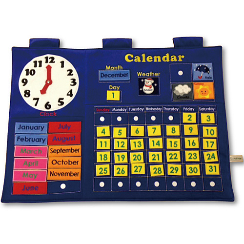 送料無料 知育玩具 数 数字 布 おもちゃ 子供 誕生日プレゼント 誕生日 スマイルキッズ カレンダータペストリー バースデー(おもちゃ 子ども こども オモチャ ギフト 子供用 玩具)