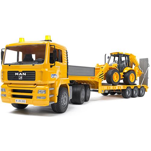 送料無料 車のおもちゃ 砂場 おもちゃ ダンプカー ブルーダー社 プロシリーズ MAN トラック&JCBバックホーローダー 子供 ドイツ 誕生日プレゼント 男の子 男 女の子 女 3歳 4歳 5歳 | 三歳 四歳 五歳 のりもの 乗り物 ミニカー はたらくくるま オモチャ 玩具