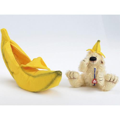 送料無料 クレメンス社 クレメンスベア バナナ ぬいぐるみ くま クマ 北欧 雑貨 インテリア ドイツ