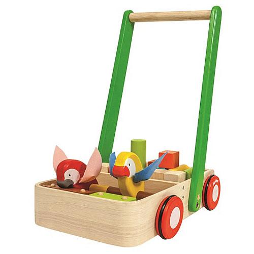 Barrow Car Toy Birthday 1 Age 2 3 Year Old Gifts Baby Shower Rattle Wood Plants Bird Walker Children Boy Man Woman
