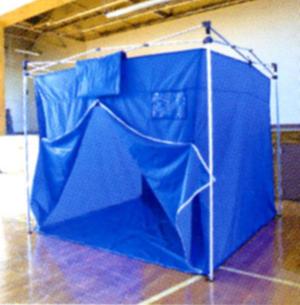 おたすけテント2 床面幕ありOTB/3W(2.4m×2.4m)