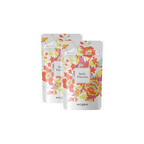2個セット Smile Placenta スマイルプラセンタ 送料無料 サプリ サプリメント プラセンタ 美容 健康 ビタミン 栄養 エイジングケア セラミド ツバメの巣 サイタイエキス 豚プラセンタ