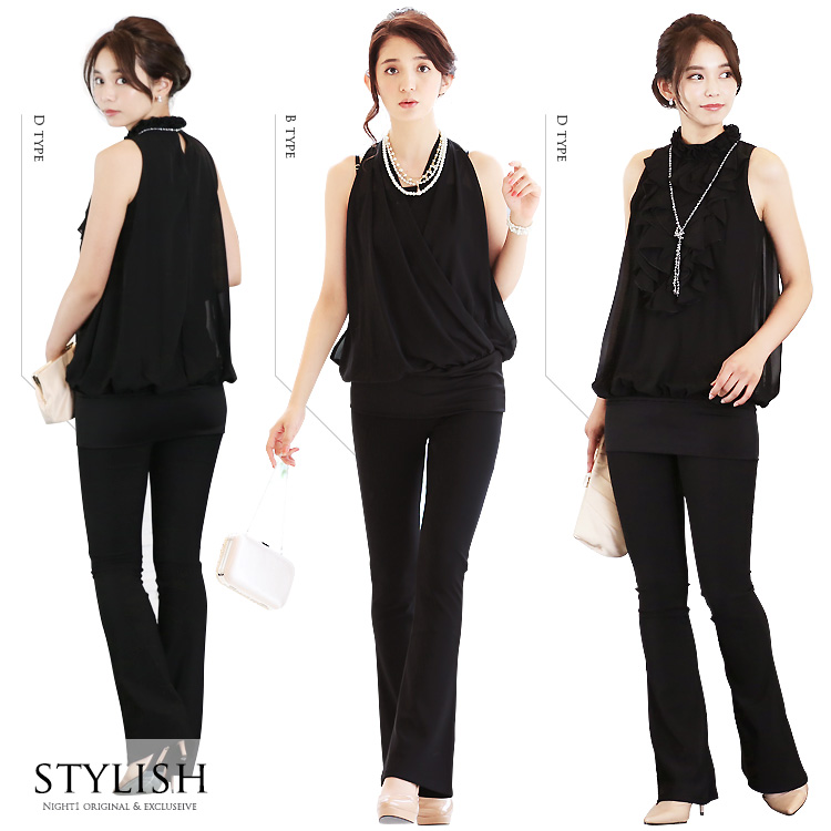 Great call happy dress up stylish pants and maternity サイズワン one-piece dress wedding and party-