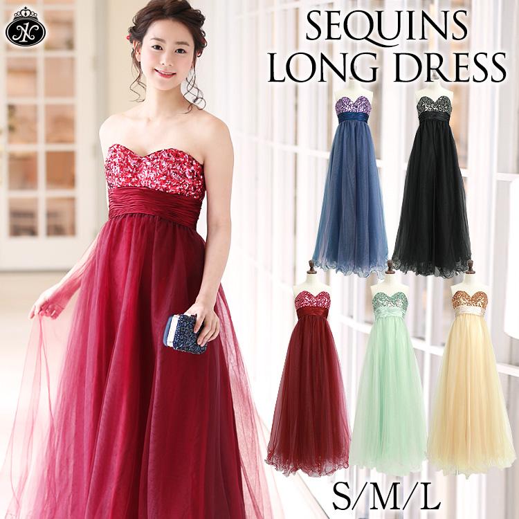 DRESS SHOP NIGHT1 | Rakuten Global Market: Long dresses sequins ...