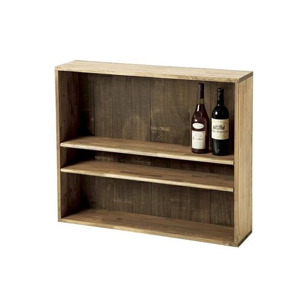 ボトル棚W900 塗装品 #32030 シンプルな木製ワインボトルラック 仕切り付き  (選べるカラー)