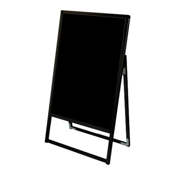 バリウス スタンド 看板 A2 片面 BVASKBB-A2K ブラックボード付A型看板 個人宅不可 法人配送のみ ブラック