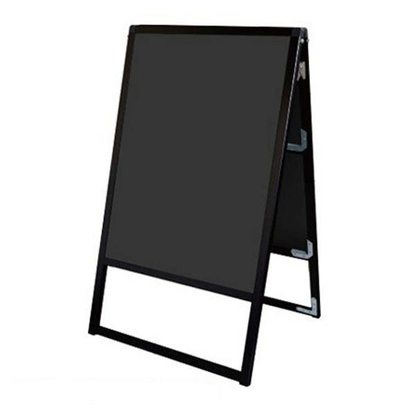 バリウス スタンド 看板 A1 両面 BVASKBB-A1R ブラックボード付A型看板 個人宅不可 法人配送のみ ブラック