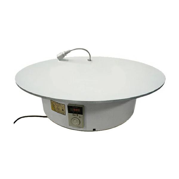 ターンテーブルコンセント有り BTT-900 テーブル上にコンセント付き。電動の物を動かしながら回せる電動式回転テーブル。