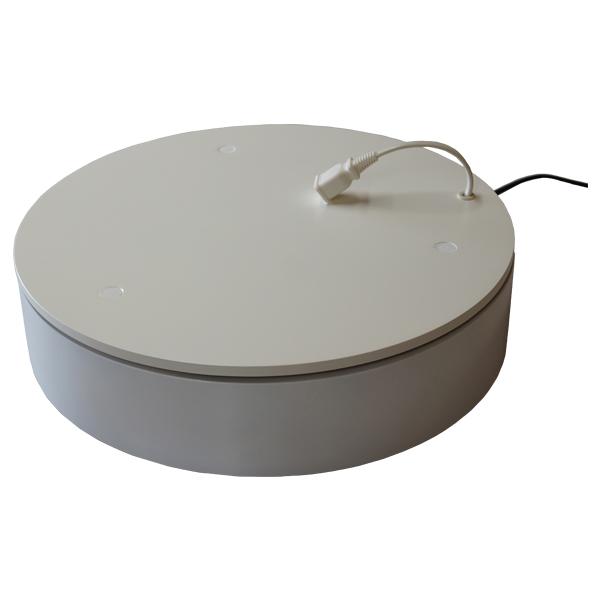 ターンテーブルコンセント有り CTT2-420 テーブル上にコンセント付き。電動の物を稼働中に回せる電動式回転テーブル。