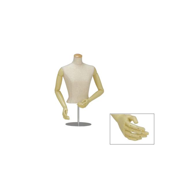 ローコストボディ 婦人 BWZK94-A7N-90 可動腕 卓上型 トルソー レディス 衣装 コスプレ 洋服