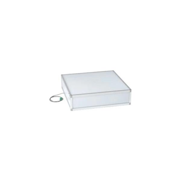 電飾ステージ DS9-D ディスプレイを下からライティング 900角 ホワイト