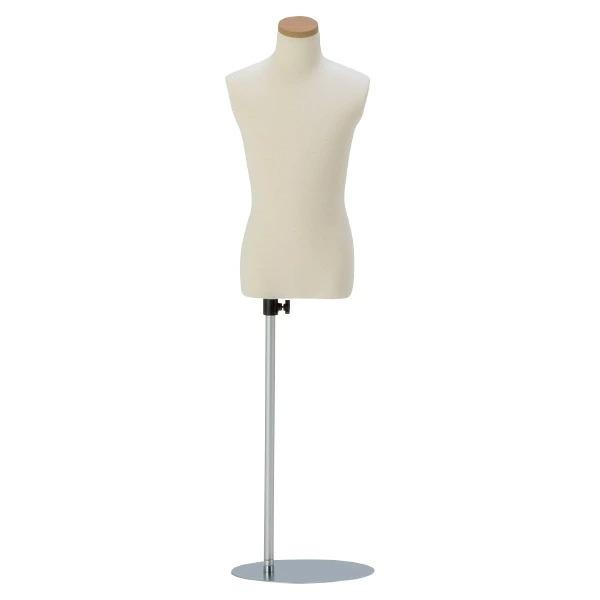 リーズナブルボディ 子供 N1-9-7Y 直立タイプ トルソー キッズ 衣装 コスプレ 洋服 7Y
