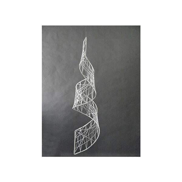 3Dスパイラルモチーフ イルミネーション 防滴 屋外