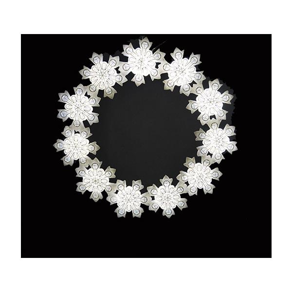 BIG スノーフレーク16 ホワイト色 BIG ホワイト色 イルミネーション 防滴 屋外 イルミネーション 低圧, スズカグン:c02bd491 --- rakuten-apps.jp