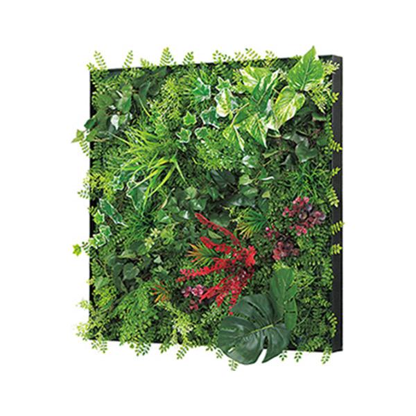 連接グリーン 60角 GR1028 壁面緑化に最適な大きいサイズのフェイクグリーン 壁 直付けタイプ