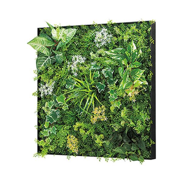 連接グリーン 60角 GR1030 壁面緑化に最適な大きいサイズのフェイクグリーン 壁 直付けタイプ