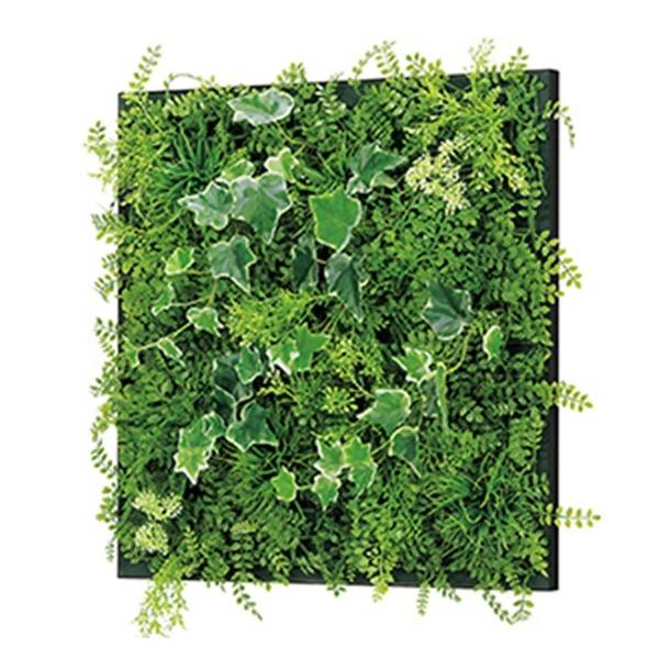 連接グリーン 45角 GR1016 壁面緑化に最適な大きいサイズのフェイクグリーン 壁 直付けタイプ