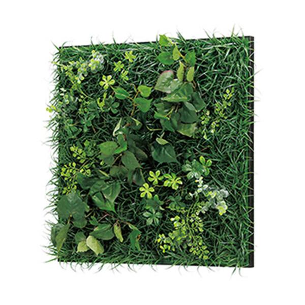 連接グリーン 45角 GR1018 壁面緑化に最適な大きいサイズのフェイクグリーン 壁 直付けタイプ