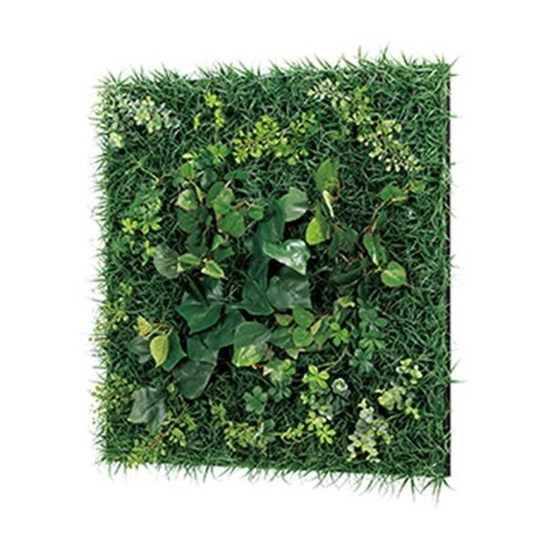 連接グリーン 60角 GR1019 壁面緑化に最適な大きいサイズのフェイクグリーン 壁 直付けタイプ