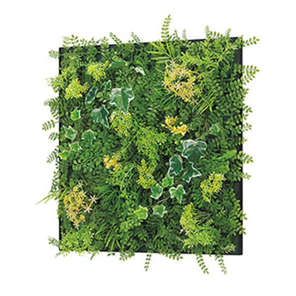 連接グリーン 45角 GR1020 壁面緑化に最適な大きいサイズのフェイクグリーン 壁 直付けタイプ