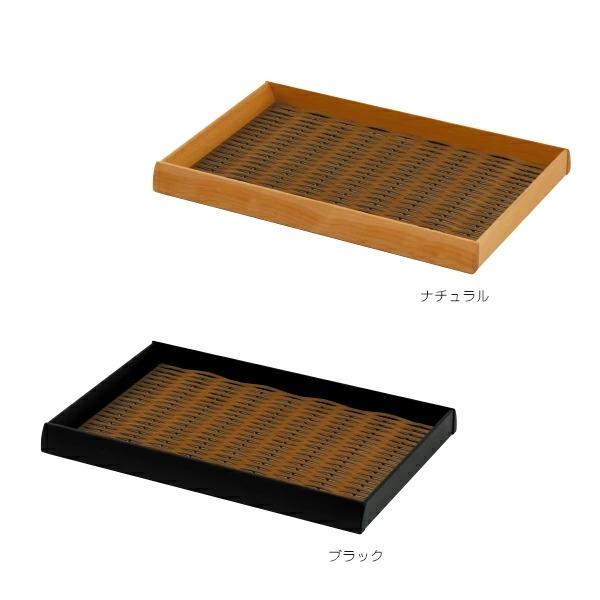 フードメッシュトレー Nタイプ 60型 FTN-60N&FTN-60B 樹脂製日本料理用せいろ風トレイ (選べるカラー)