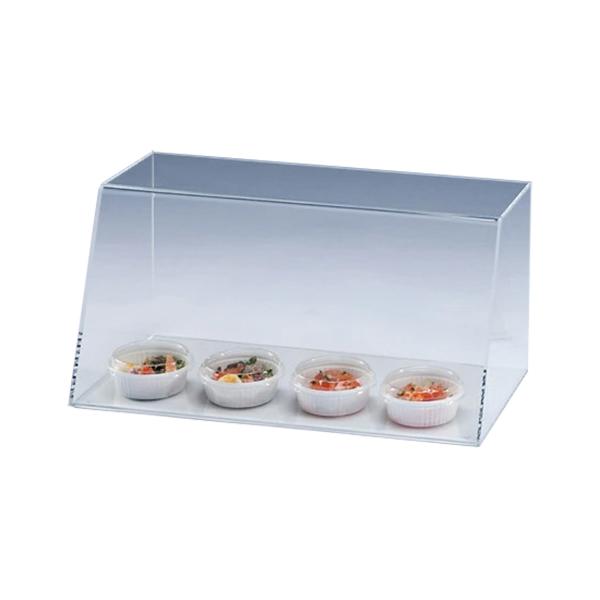 対面ディスプレイケース 側板あり A112 食品 フィギュア 収納 コレクション  透明