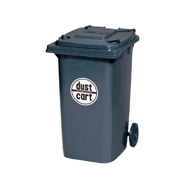 ダストカート240 KT240 ゴミ集積所まで運搬に便利なスマートカート ダークグレー