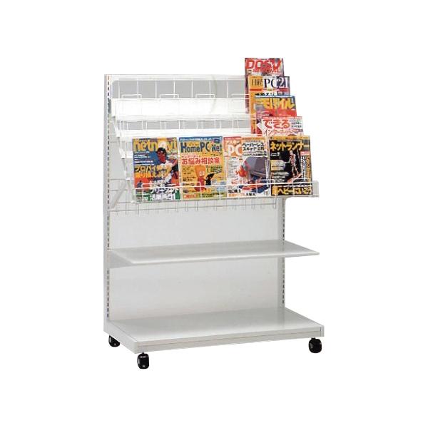 マガジン什器5段 MRS-35WF キャスター仕様 個人宅不可 要店舗名