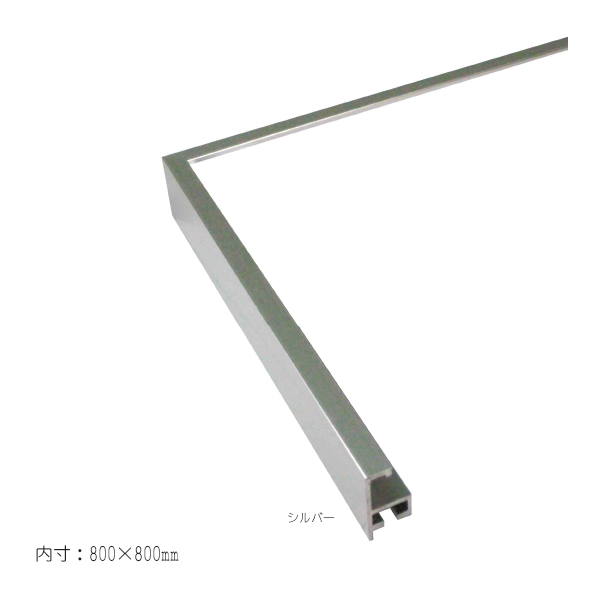 T25 800角  額縁(ポスターフレーム)正方形サイズ  (選べるフレームカラー)