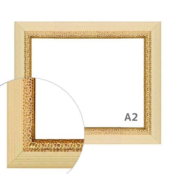 額縁eカスタムセット標準仕様 D-37506 作品厚約1mm~約3mm、シンプルな高級ポスターフレーム A2