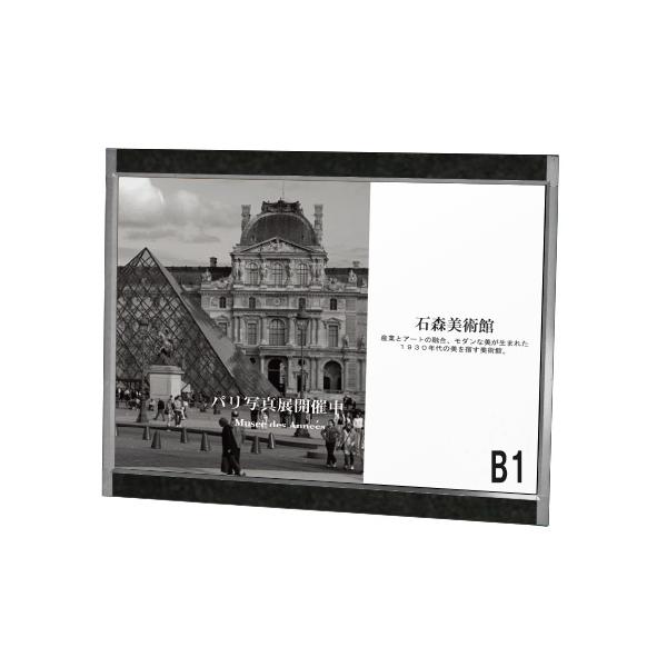 プリンパ オープン パネル B1 ヨコ シルバー プリンパ パネル 壁面直付可 S730 屋内 片面 壁面直付可 (選べるアクセントプレート), リトルムーン(ヘアアクセサリー):e15a05a4 --- officewill.xsrv.jp