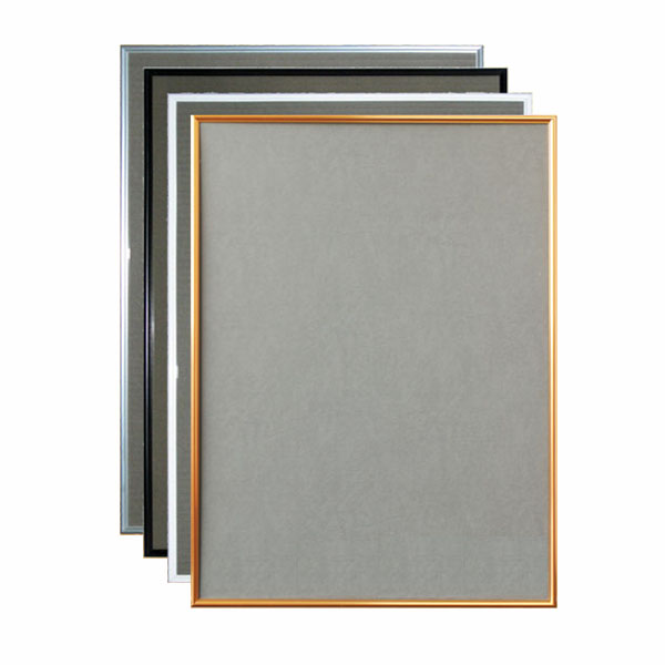 ポスターフレーム シェイプ A0 グリーン購入法適合商品 (選べるカラー)