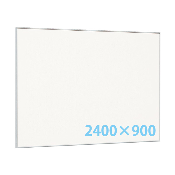 掲示ボード 2400×900 ホワイトボード仕様 629 屋内 直付け ヨコ タテ 個人宅不可 法人配送のみ