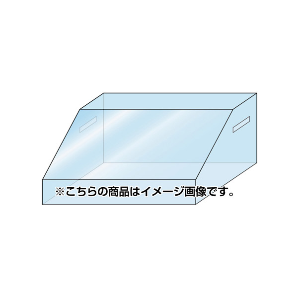 TSAOP-595×445 テーブルスタンドオプションアクリルボックス 595×445 ディスプレイ サンプルケース オプション 個人宅配送不可