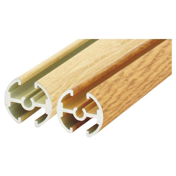 タペストリーバー1本Φ20 1215mm【2】 F20-120 ポスターを視覚的、効果的に掲示が可能  (選べる白木調/ケヤキ調)