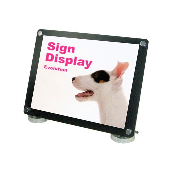 カウンターブラックスタンドA3横 CUBS-A3Y 卓上用 ポスター 角度調節 個人宅配送不可