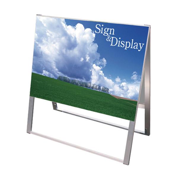 スタンド看板 SKAタイプ900×600 SKA900X600 A型看板 店舗看板 両面 面板貼付 個人宅配送不可