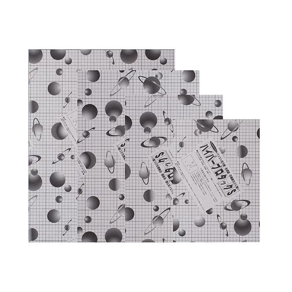 ハイパープロタックSブラック 7mm厚 3×6 芯まで黒い のり付きボード 【6枚セット】