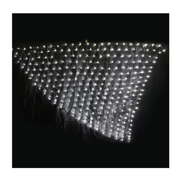 三角ネットライト ブラックコード プロ仕様 ご家庭用にも ホワイト