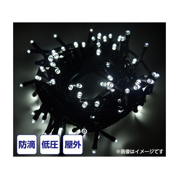 LEDライト 2芯24Vストリングライト ブラックコード