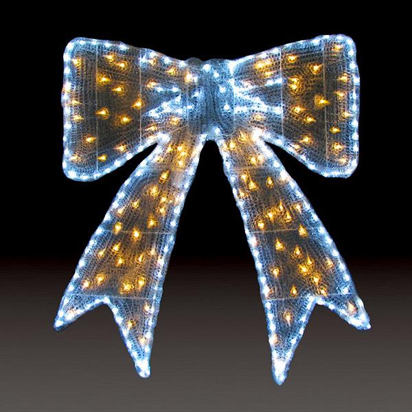 LEDクリスタルグロー リボン(大) ACR-RIBL-WW ウォームホワイト(選べるカラー) 【要在庫確認】